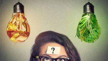 Hubnutí a vegetaránství