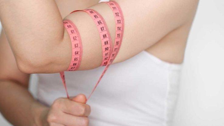 Jak zhubnout paže