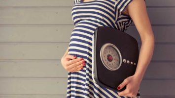 Jak zhubnout v těhotenství