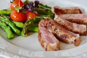chřest, proteinová dieta