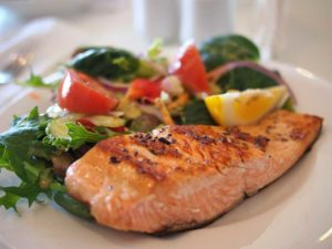 losos, proteinová dieta
